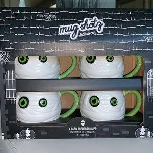 Mummy mug shotz espresso cups